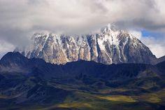 The sacred Mount Zhara Lhatse 5820m, Tibet...
