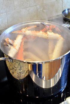 Drunken Crab Legs - Great Deals at www.AlaskaKingCrabs.com