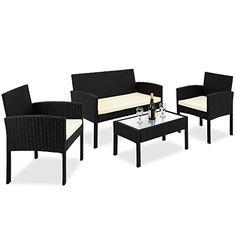 Rattan wicker DELUXE Furniture garden set - outdoor dining eating table chairs bank DEUBA GmbH & Co. KG. http://www.amazon.co.uk/dp/B00S4ZVQOW/ref=cm_sw_r_pi_dp_kxmvvb1K5ENGW