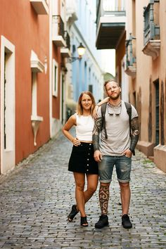 As a couple // Anna & Sebastian