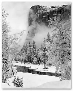 Ansell Adams! I'd love to take photos this good! I really want to visit Yosemite Park sometime. Ideally, riding through it on a Harley!