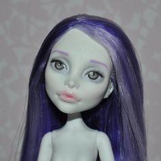 OOAK Monster High doll Spectra Vondergeist custom repaint on Etsy, $80.00