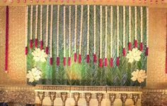 Discover more about wedding preparation checklist party planning Check the webpage to get more information. Marriage Decoration, Wedding Stage Decorations, Engagement Decorations, Flower Decorations, Hall Decorations, Mehndi Decor, Mehendi, Indian Wedding Flowers, Mandap Design