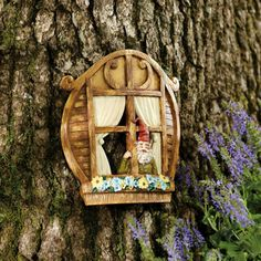 1000 images about shop small on pinterest evergreen for Wooden fairy doors to decorate