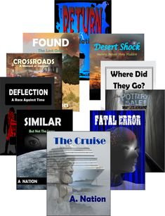 You can find my books at Smashwords or these other fine locations: Amazon:  http://amzn.to/2bqkdth Books2Read:  http://bit.ly/2gk4jDA Watch Facebook for current sales at:  https://www.facebook.com/AuthorANation/