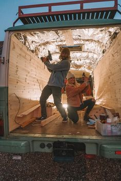 Van Conversion Walls, Motorhome, Bus Living, Tiny Living, School Bus House, Tongue And Groove Panelling, Floor Insulation, Van Wall, Ceiling Cladding