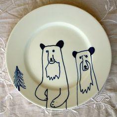 Bear-plates by James Ward