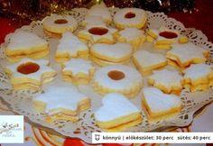 A legpuhább linzer recept Bognár Lilla konyhájából - Receptneked. Pie, Cookies, Food, Torte, Crack Crackers, Cake, Fruit Cakes, Biscuits, Essen