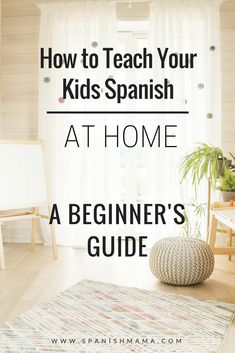 How to Teach Your Kids Spanish at Home. Tons of free resources, links, and ideas for learning Spanish as a family. Learn Spanish with kids, through these helpful tips and free resources. Don't wait to get started and teach your kids Spanish at home! Preschool Spanish, Spanish Lessons For Kids, Learning Spanish For Kids, Spanish Basics, How To Teach Kids, Teaching Spanish, Teaching Kids, Elementary Spanish, Spanish Activities