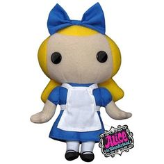 """Alice - Alice In Wonderland - 7"""" Plush Toy >>> Click image to review more details. (This is an affiliate link) #PlushFigures"""