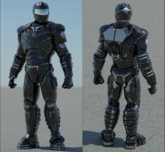 Armored Soldier by SgtHK.deviantart.com on @DeviantArt