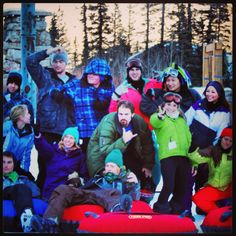 Time to sign up for the next TSR snow trip!