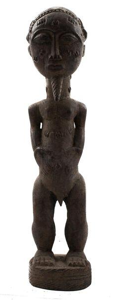 African Statue | Baule | ivory coast | art artwork statues folk art statuette tribal artwork wood carving artifacts| art lover gift #BauleStatue #TribalArtwork #BauleFigure #baoulé #AfricanAmericanArt #AfricanStatues #AfricanFolkArt #AfricanMask #AfricanArtwork #statuette