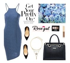"""""""Rosegal 15"""" by merima-kopic ❤ liked on Polyvore featuring Christian Louboutin, NYX, Dolce&Gabbana and rosegal"""