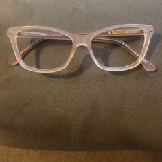 cff6b524843e Beautiful nude eyeglass frames Excellent condition and a wonderful  accessory! Nude / peach eyeglasses by