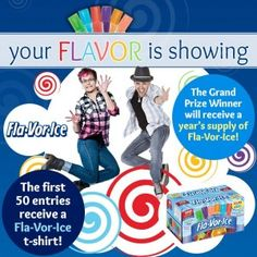 Fla-Vor-Ice Show Us Your Flavor Sweepstakes (Photo Upload Required) - Coupon Clipinista