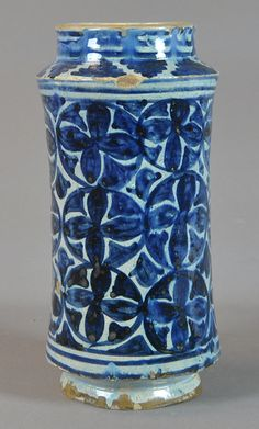 pharmacy jar, 15th century Valencia Inventario: FC.2014.02.13