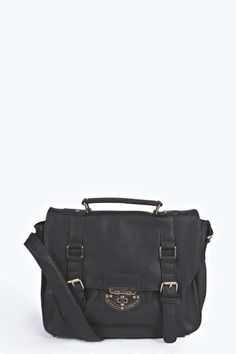 Myla Cross Body Satchel Bag at boohoo.com