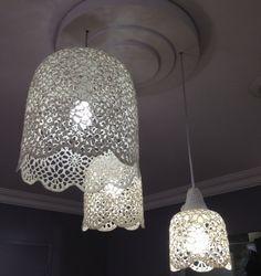 Lampe GOA de Muno Home Decoration - luminaire crochet