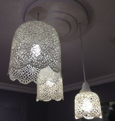 1000+ images about Crochet - Lampshades on Pinterest ...