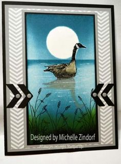 Goose Reflection – Stampin' Up! Card