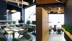 Респектабельный интерьер кафе-бара Bristol
