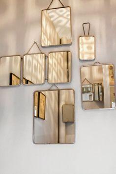 A nice mirror wall.