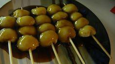 Kushi-dango (skewered Sweet Dumplings)