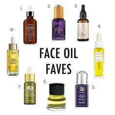 face oil favorites // EOS