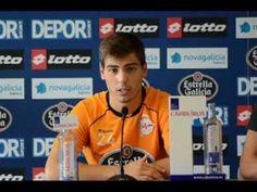 07/11/2013 Rolda de prensa de Luis Fernández do Deportivo en galego (vídeo)
