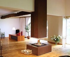 metall fireplace - Bloch Design