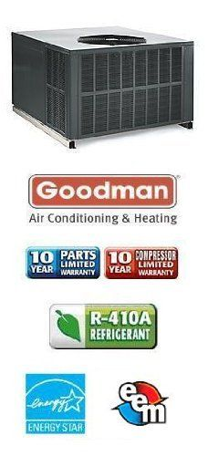 4 Ton 15 Seer Goodman Package Air Conditioner Gpc1548m41 By