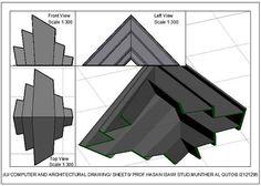 Munther Fuad Al Qutobالرسم المعماري بالحاسوب/ computer architectural drawing