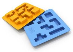 If the novelty of the Lego ice cube maker has worn off, how about the Tetrice? That's right, this is a Tetris ice cube maker. Geek Gadgets, Gadgets And Gizmos, Cool Gadgets, Ice Cube Molds, Ice Cube Trays, Ice Cubes, Ice Tray, Geek Gifts, Inspired Homes