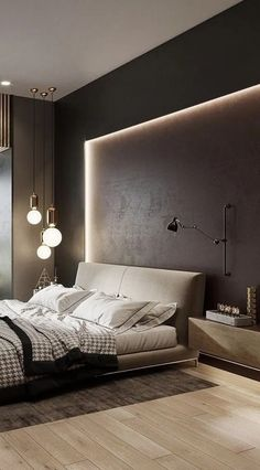 Modern Contemporary Bedroom Design New Modern Contemporary Luxury Bedroom Design Inspiration Decor Luxury Bedroom Design, Home Room Design, Master Bedroom Design, Home Decor Bedroom, Home Interior Design, Bedroom Ideas, Bedroom Design Minimalist, Bedroom Décor, Bedroom Furniture