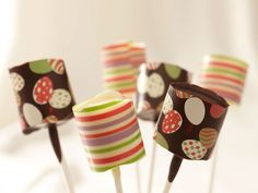 Marshmallow Pops http://www.fancyflours.com/product/marshmallow-pops/basic-recipes