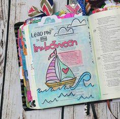 Bible Journaling by @my.creative.worship