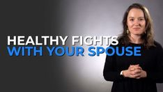 """It seems like the best marriages are the ones where they say, """"We never fight."""" Or,  that they, """"Always get along and always agree."""" But we're here to say that these experiences are not healthy (and, they're not realistic). You need to have conflict with your spouse, but in a way that DOESN'T destroy your relationship."""