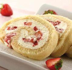 Un postre con mucha pasión: Pastel de fresas y nata