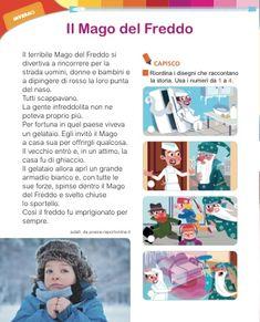 Italian Language, School, Winter Time, Snow
