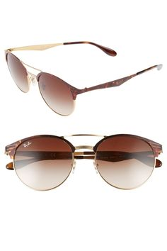 16b3dd032c56 Ray-Ban - Highstreet 54mm Round Sunglasses. Free Shipping on orders over  $100. Nordstrom Rack
