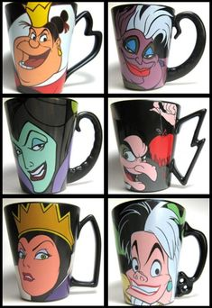 Disney villains cup, I want!!!!