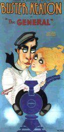 """""""El maquinista de la general"""" (1926) de Buster Keaton & Clyde Bruckman. Visto el 18/10/2015"""