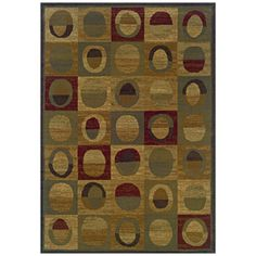 Sedia Home�Pascal 5-ft x 7-ft 6-in Rectangular Multicolor Geometric Area Rug; Lowes $148