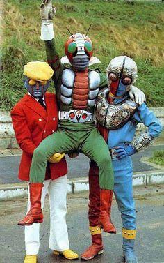 Robot Keiji K, Kamen Rider V3, Kikaider 01