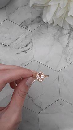 0.35 ct Rainbow Moonstone Gemstone 0.04 ct Diamond Minimalist Ring Standard US 7