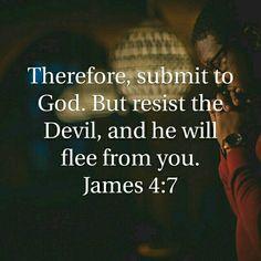 James 4:7 HCSB