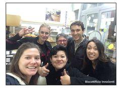 Gorgeous friends, Gorgeous selfie!!! :) <3   Biscottificio Innocenti Roma Trastevere