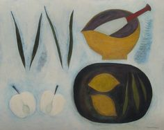 Still Life with Pestle and Mortar, (2012) by Vivienne Williams