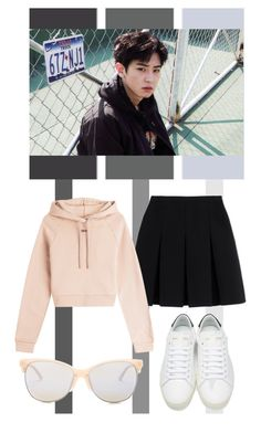 """""""Park Chanyeol / Tag"""" by tanbo ❤ liked on Polyvore featuring interior, interiors, interior design, home, home decor, interior decorating, Alexander Wang, Off-White, Yves Saint Laurent and Smith Optics"""
